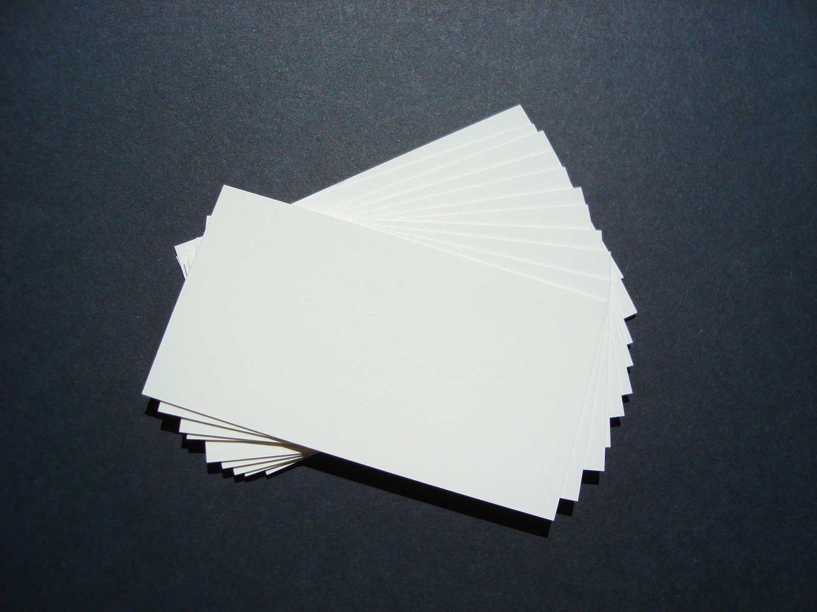 Business Cards – a valuable promotional tool.