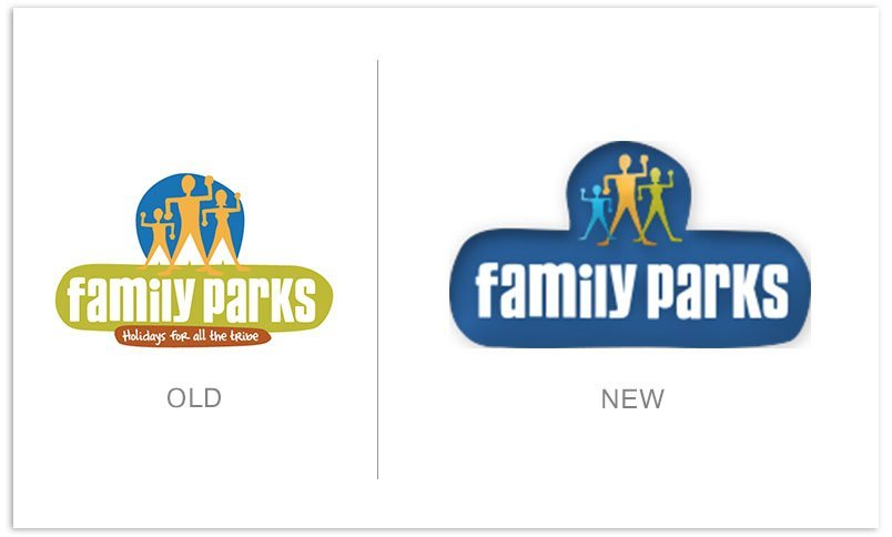 Family Parks logo brand refresh