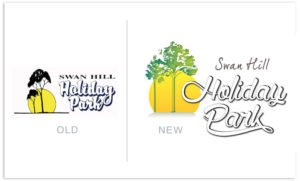 Swan Hill Holiday Park Logo Update