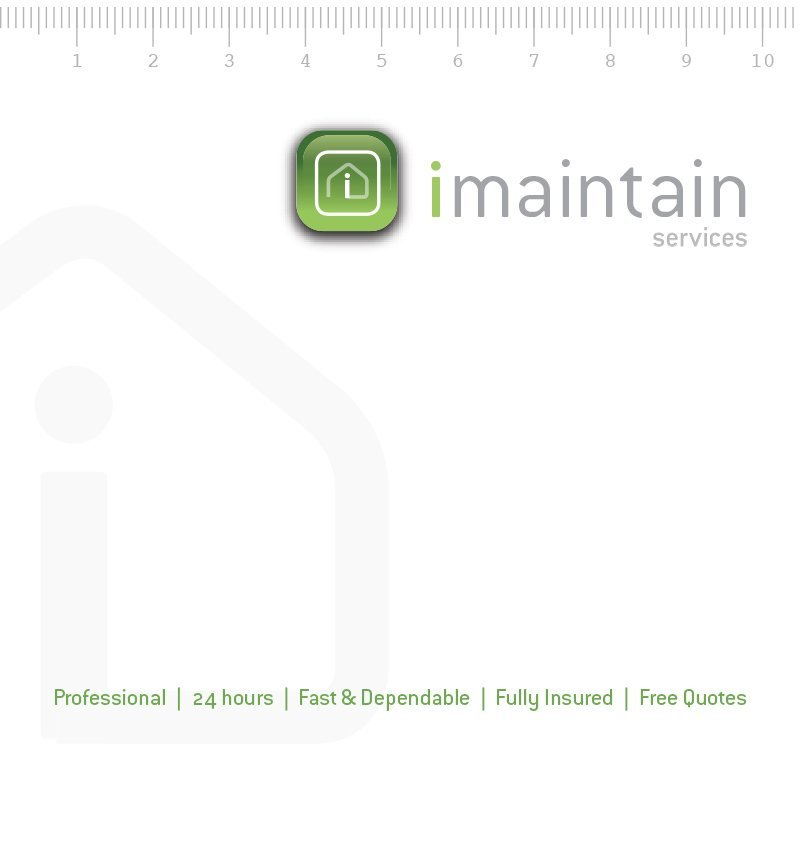 imaintain – corporate identity, logo and stationery