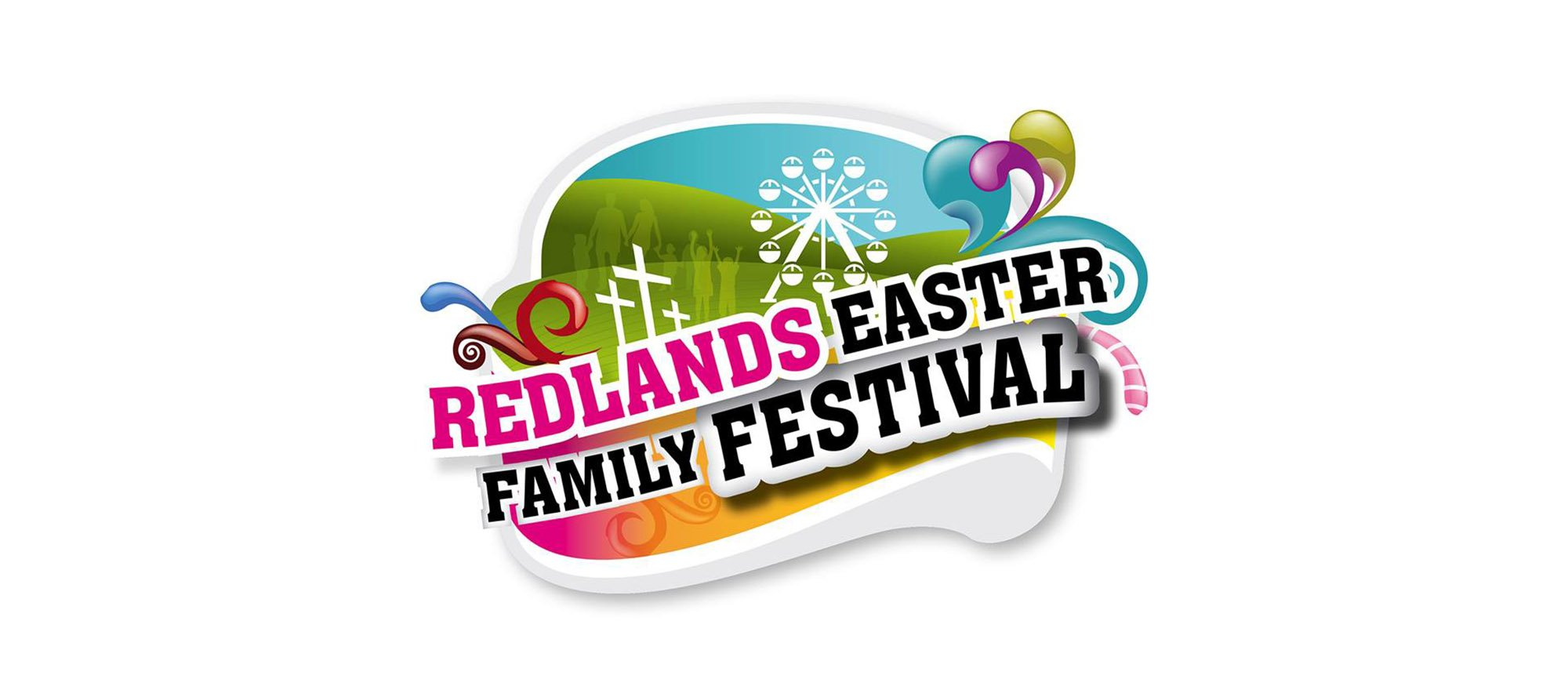 Redlands Family Easter Festival - logo design