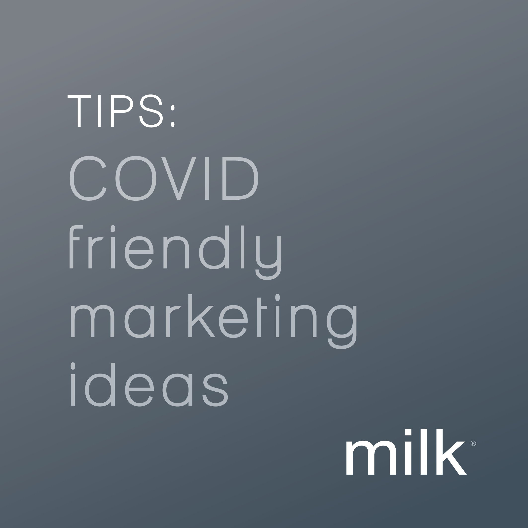 COVID Friendly Marketing Tips For Business