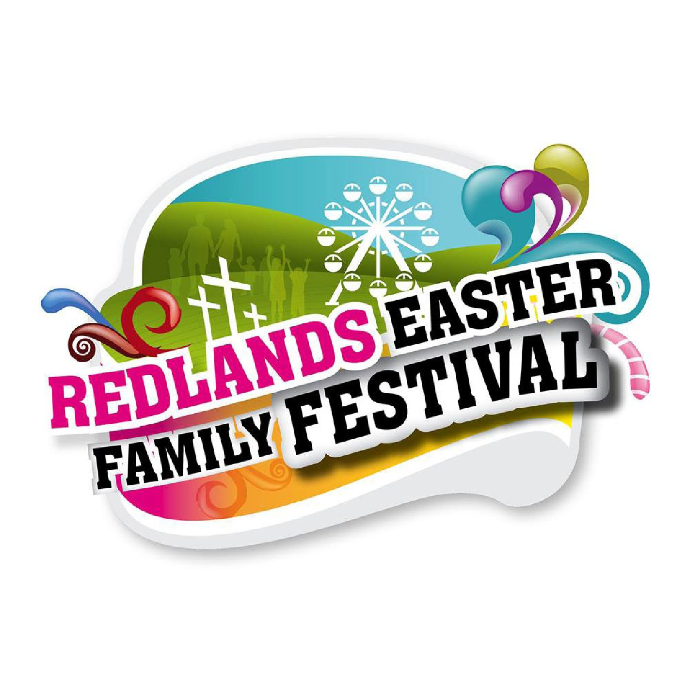 Redlands Easter Festival Logo Design