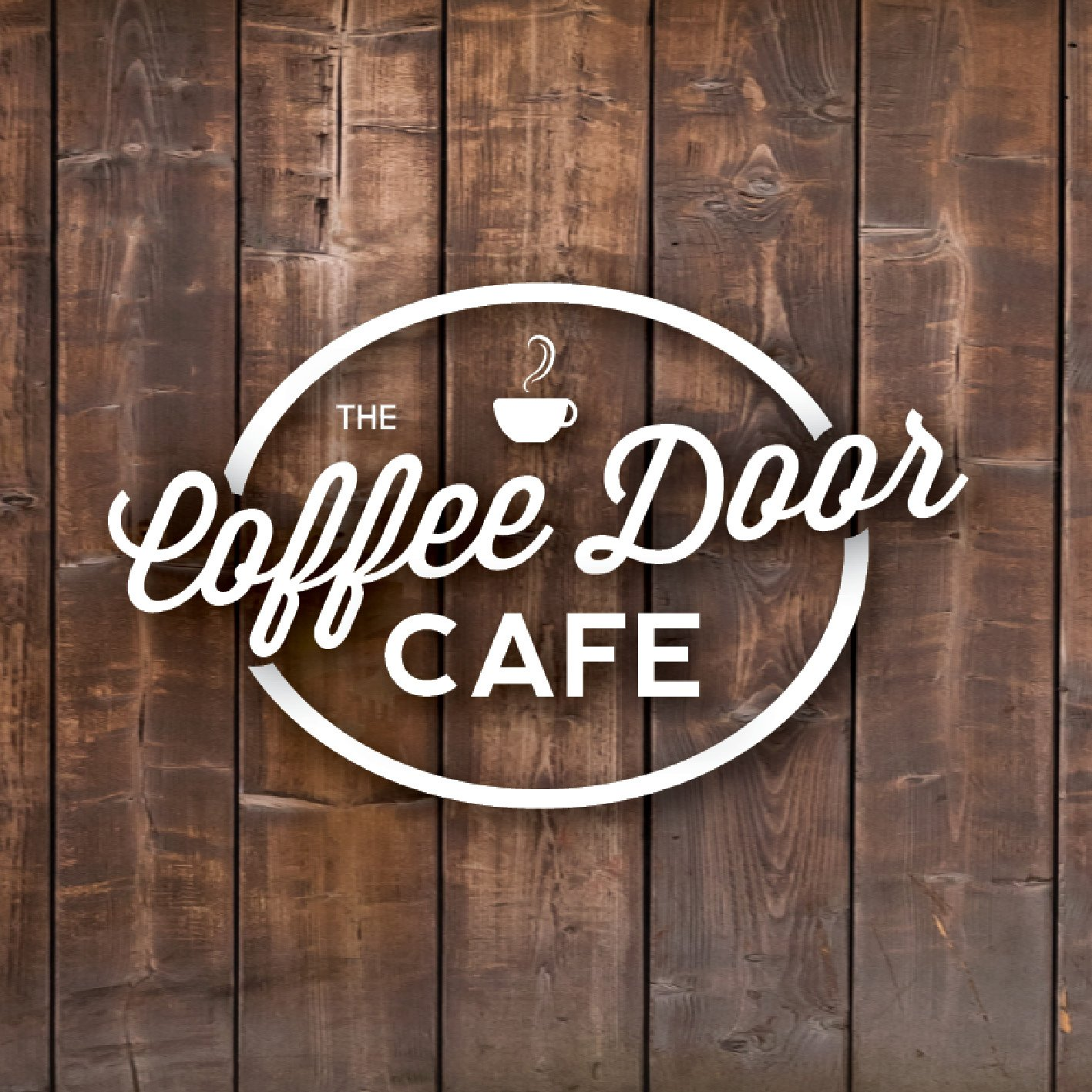 Coffee Door Cafe Logo Design