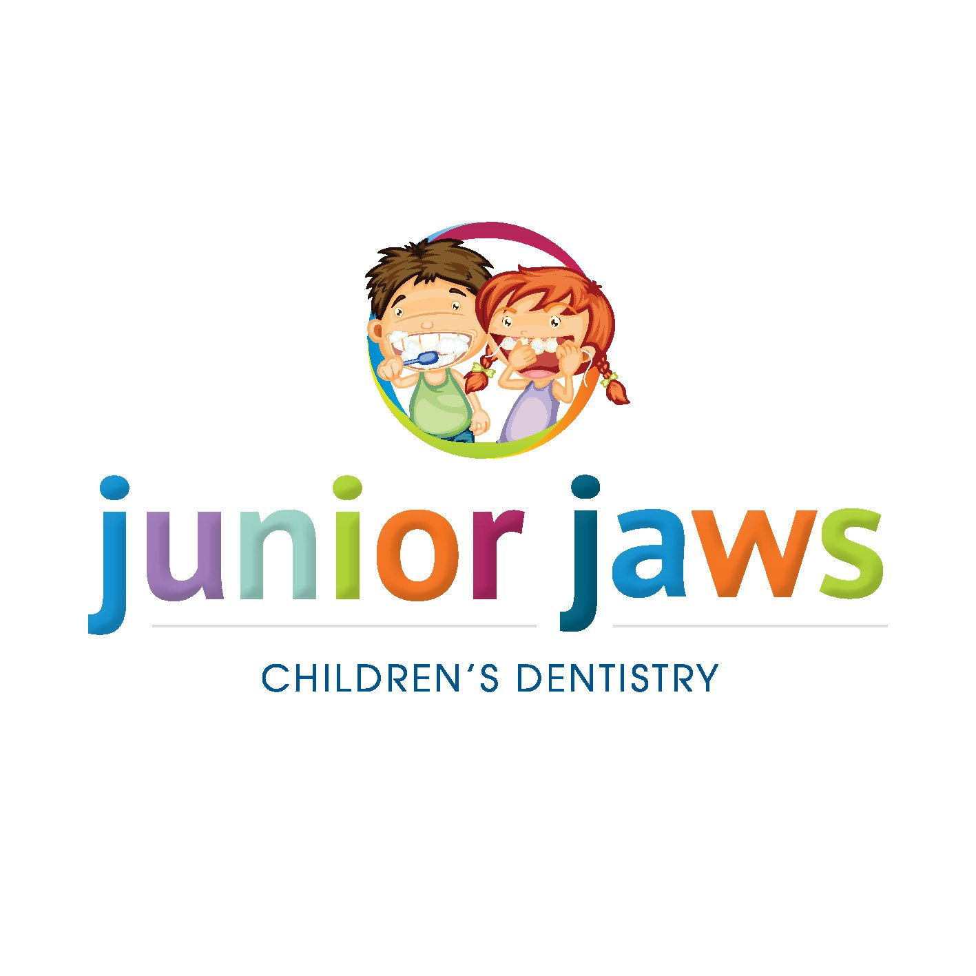TD Dental - Junior Jaws Childrens Dental Clinic Logo Design