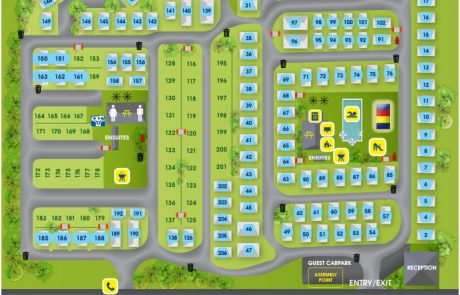 Geelong Riverglen - Map - Holiday Park